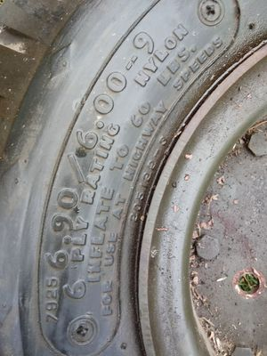 Lawn tractor tire for Sale in Yelm, WA