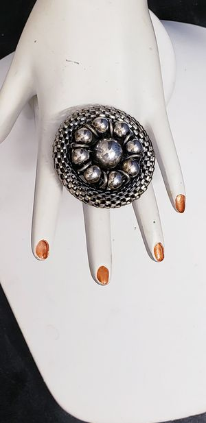 """HUGE MASSIVE SILVER RING """"NICE"""" for Sale in New York, NY"""