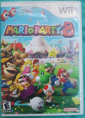 Mario party 8 wii for Sale in Houston, TX