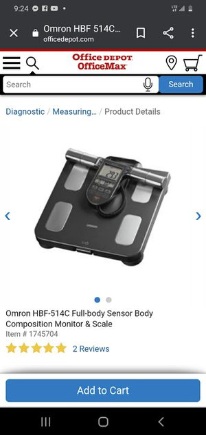 Body health scale for Sale in Baltimore, MD
