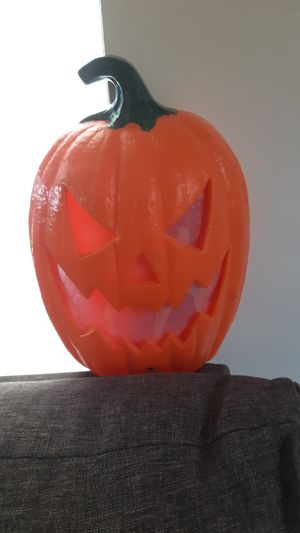 Halloween pumpkin with lights and sound for Sale in Norwalk, CA