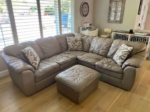 Leather Sectional Couch for Sale in Livermore, CA