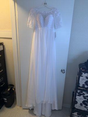 David's Bridal Wedding Dress for Sale in Weslaco, TX