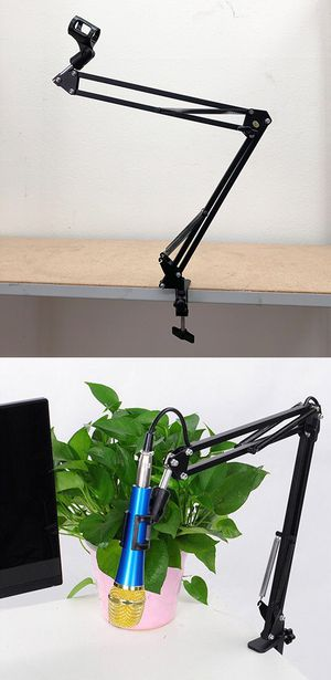 New $10 Mic Microphone Suspension Boom Scissor Studio Broadcast Stage Arm Stand Holder for Sale in South El Monte, CA