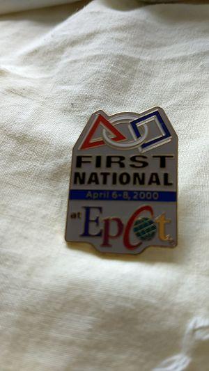 Disney pin (Epcot) for Sale in Sunnyvale, CA