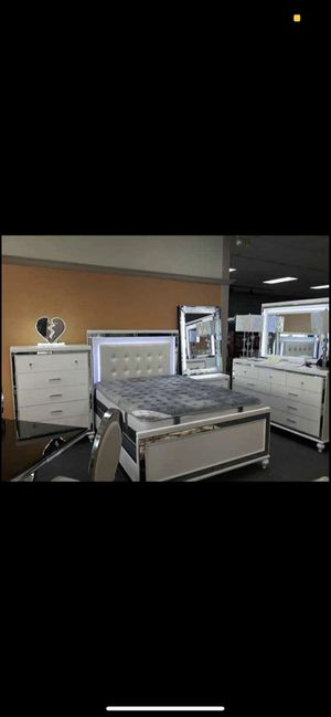 Bedroom set for sale $40 down and take it home. No credit needed financing for Sale in Queens, NY