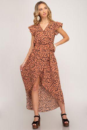 Leopard Print High Low Dress for Sale in Atlanta, GA