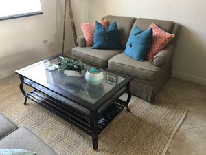 Couch and coffee table for Sale in West Palm Beach, FL