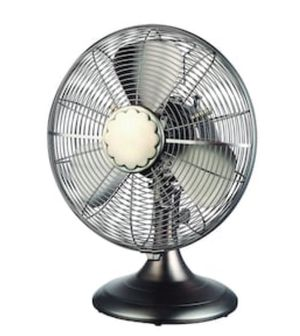 Cozy Breeze 12-in 3-Speed Indoor Desk Fan for Sale in Las Vegas, NV