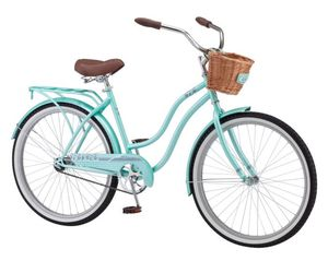 "New Schwinn 26"" Bike Mint Green Cruiser Basket Coastal Brakes Built in Rack for Sale in Coral Gables, FL"