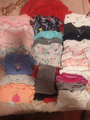 Babygirl clothes 6-9 months for Sale in Fremont, CA