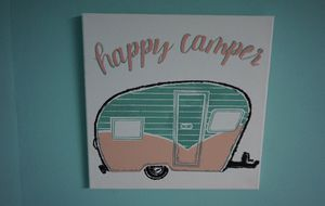 Happy Camper Canvas for Sale in Centralia, WA