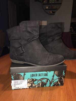 Women's black suede boots for Sale in Cumming, GA
