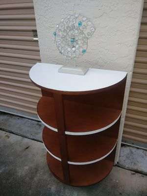 Unique looking side table /hutch/ cabinet for Sale in undefined
