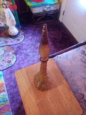 Unique antique glass vase for Sale in Bartow, FL