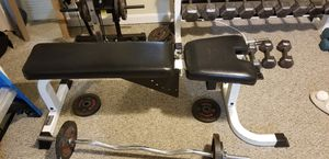 PFE Weight bench (commercial grade) for Sale in Boston, MA