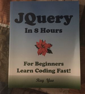 JQuery Book for Sale in Tinley Park, IL