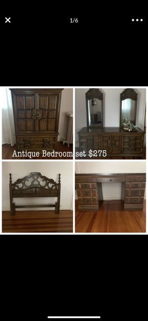 6 piece bedroom set- excellent condition $199 for Sale in Blue Island, IL