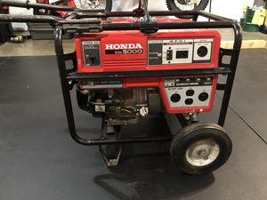 Honda EB5000 Generator for Sale in Everett, WA