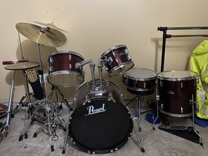 Pearl drum set for Sale in Channelview, TX