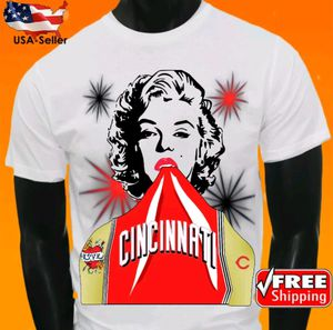 Cincinnati Reds White T-Shirt Cool MLB Uniform Jersey Tee Baseball New for Sale in Hallandale Beach, FL
