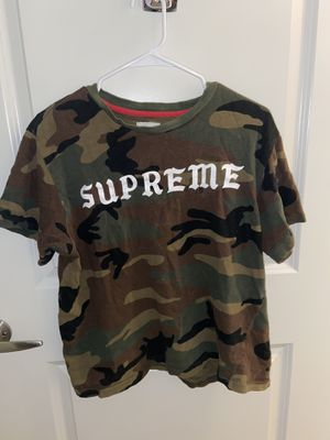 Supreme Camo Shirt for Sale in Flagstaff, AZ