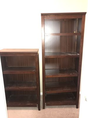 Set of 2 Bookshelves for Sale in Cinnaminson, NJ