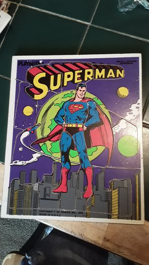 1976 Superman puzzle for Sale in Vancouver, WA