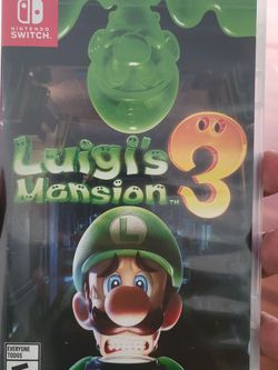 Luigis Mansion 3 Nintendo Switch for Sale in Compton,  CA