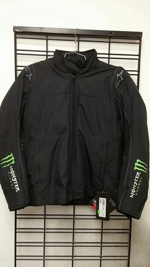 Alpinestars Chase Waterproof Motorcycle Jacket Black/Green Size XXL for Sale in Signal Hill, CA