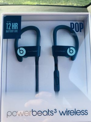 Sealed NEW Original beats wireless (Powerbeats 3 ) for Sale in Santa Ana, CA