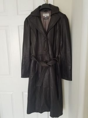 PELLE studio, Wilson leather long jacket for Sale in Apex, NC