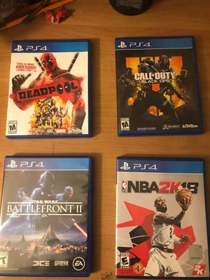 Ps4 Games for Sale in Cleveland, OH