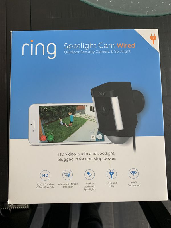 Ring Security System, Doorbell And Camera
