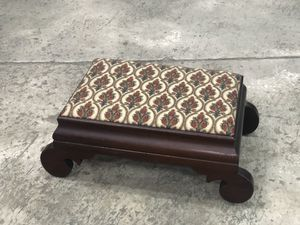 Gorgeous Recovered Antique Mayflower Footstool for Sale in Tampa, FL