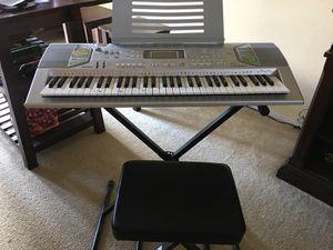 Musical Keyboard CASIO CKT 800 for Sale in Altamonte Springs, FL