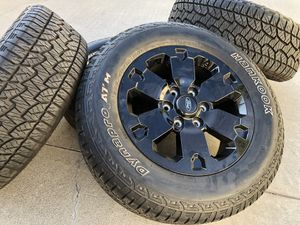 2019 Ford Ranger Black Edition Wheels Hankook Dynapro ATM 265/60/18 for Sale in Rancho Cordova, CA