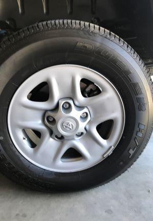 Brand new tires n rim tundra 2020 for Sale in Manteca, CA