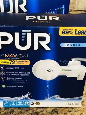 PUR water faucet for Sale in Alpharetta, GA
