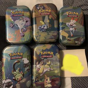 Pokémon Mini Tins for Sale in North Andover, MA