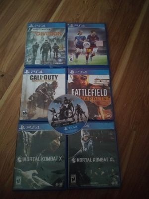 Ps4 game lot for Sale in Auburn, WA