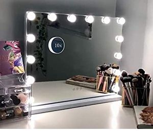 New makeup vanity lighted mirror white for Sale in Whittier, CA