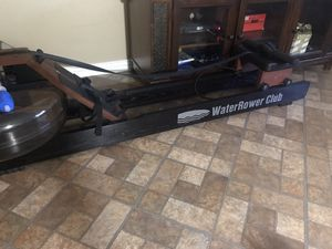 Water rower club machine for Sale in Houston, TX