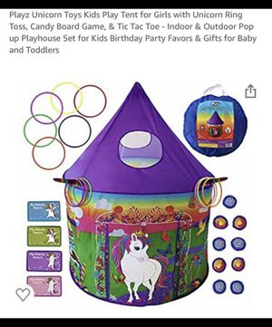Unicorn play tent game set -brand new for Sale in Burbank, CA