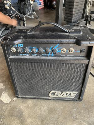 Crate guitar amplifier for Sale in Los Angeles, CA