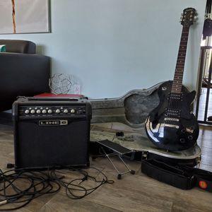 Electric guitar & amp for Sale in Phoenix, AZ