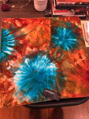 Brightly Twisted Tie Dye Throw Pillow Case for Sale in Rochester, MI