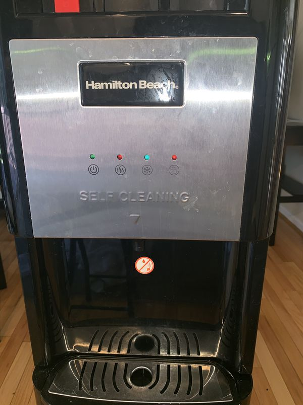 Hamilton Beach Stainless Steel Self Cleaning Water Dispenser