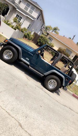 1998 Jeep Wrangler for Sale in Fontana, CA