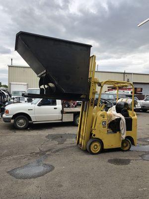 Hopper dumpster for forklift for Sale in Clackamas, OR